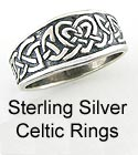 Silver Celtic Rings